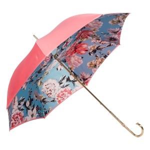 Зонт-трость Pasotti Magenta Bouquet Oro фото-3