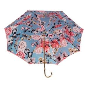 Зонт-трость Pasotti Magenta Bouquet Oro фото-4