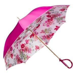 Зонт-трость Pasotti Becolore Fuxia Parati Plastica фото-3