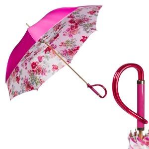 Зонт-трость Pasotti Becolore Fuxia Parati Plastica фото-1