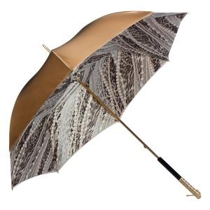 Зонт-трость Pasotti Becolore Beige  Perla Perle фото-3