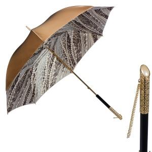 Зонт-трость Pasotti Becolore Beige  Perla Perle фото-1