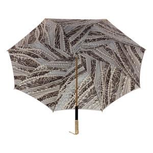 Зонт-трость Pasotti Becolore Beige  Perla Perle фото-4