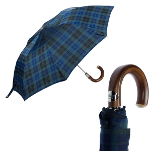 Зонт складной Pasotti Auto Chestnut Celtic Blu фото-1