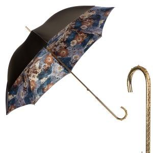 Зонт-трость Pasotti Becolore Anasnasia Oro Dentell фото-1