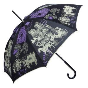 Зонт-трость GDJ 1011-LA NotreDame Noir long фото-3