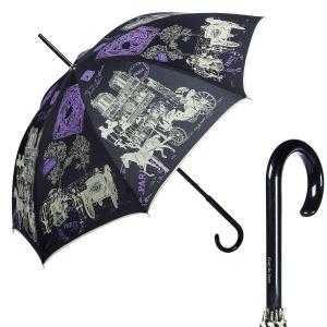 Зонт-трость GDJ 1011-LA NotreDame Noir long фото-1