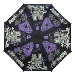 Зонт-трость GDJ 1011-LA NotreDame Noir long фото-2