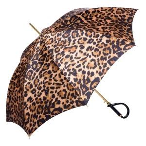 Зонт-трость Pasotti Uno Leo Plastica Brown фото-3