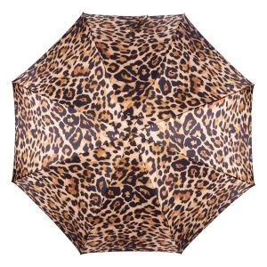 Зонт-трость Pasotti Uno Leo Plastica Brown фото-2