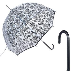 Зонт-трость прозрачный Guy De Jean 1008-LM Frivole La Liste long фото-1