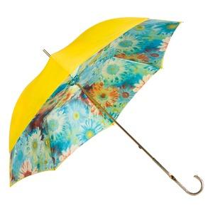 Зонт-трость Pasotti Yellow Gerbera Oro фото-3