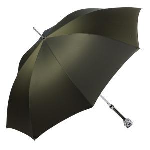 Зонт-трость Pasotti Leone Silver  Oxford Oliva  Fodero Anello фото-4