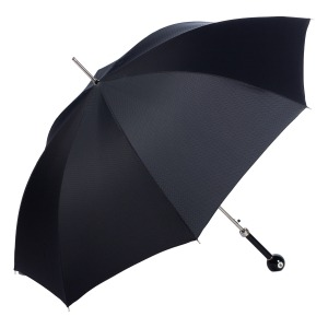 Зонт-трость Pasotti Biliardo Onda Black фото-3