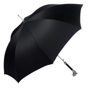 Зонт-трость Pasotti Tigre Silver Stripes Black фото-4