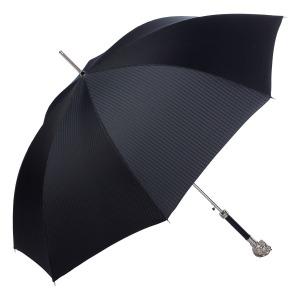 Зонт-Трость Pasotti Horse Silver Codino Black фото-4
