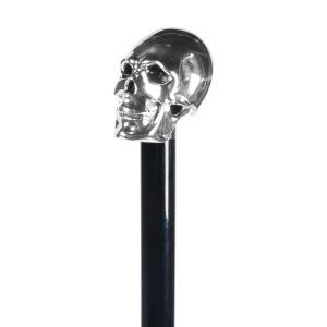 Зонт-трость Pasotti Capo Silver Oxford Black Fodero Anello фото-3