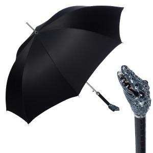 Зонт-трость Pasotti Crocodile Oxford Fodero Anello фото-1