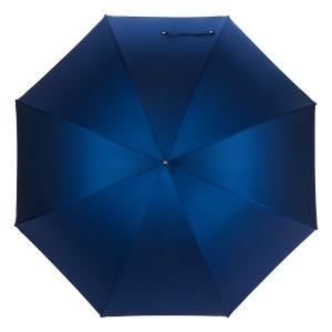 Зонт-трость Pasotti Bracco Silver Oxford Blu  Fodero Anello фото-2