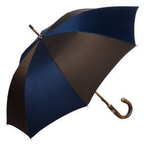 Зонт-трость Pasotti Chestnut Oxford Multi Blu фото-2