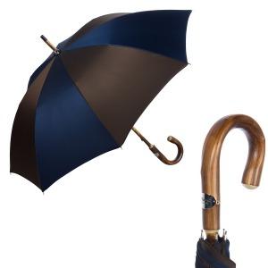 Зонт-трость Pasotti Chestnut Oxford Multi Blu фото-5
