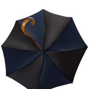 Зонт-трость Pasotti Chestnut Oxford Multi Blu фото-3