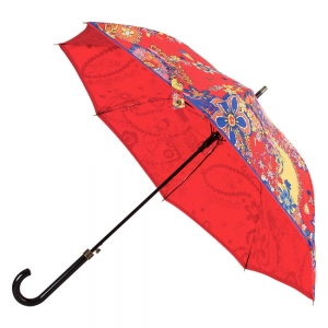 Зонт-трость M 8264-63AUTOC Paisley Red фото-3