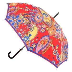 Зонт-трость M 8264-63AUTOC Paisley Red фото-1