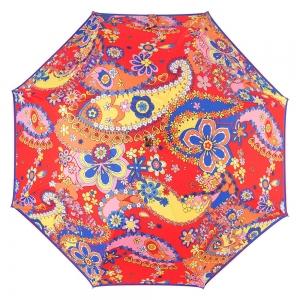 Зонт-трость M 8264-63AUTOC Paisley Red фото-2