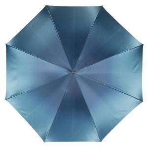 Зонт-трость Pasotti Blu Iris Rapira фото-2