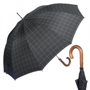Зонт-трость M&P C176-LA Legno Sell Black фото-1
