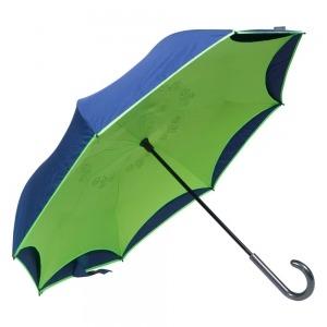 Зонт-Трость Emme M429-LM Reverso Neon Blue фото-3