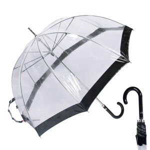 Зонт-трость M&P C4700-LM Transparent Black фото-1