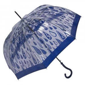Зонт-Трость Joy Heart J9467-LA Rain Blue фото-2