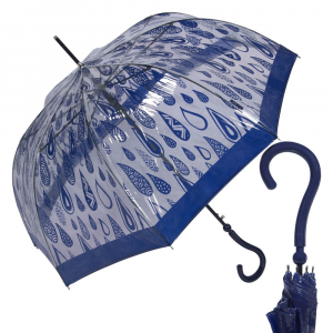 Зонт-Трость Joy Heart J9467-LA Rain Blue фото-1