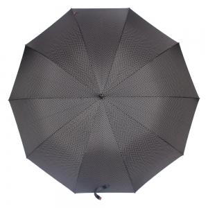 Зонт-трость M&P C176-LA Legno Onda Black фото-2