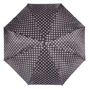 Зонт складной Pasotti Auto Pois Nero/Beige Lux фото-2
