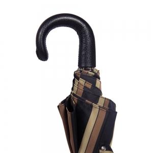 Зонт складной Pasotti Auto Classic Pelle Alfred Morrone фото-3