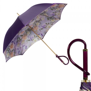 Зонт-Трость Pasotti Violato Geante Rosa Plastica фото-1