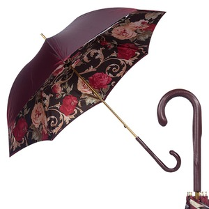 Зонт-Трость Pasotti Bordo Palazzo Rosso Original  фото-1