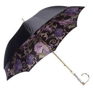 Зонт-Трость Pasotti Nero Palazzo Viola Marble  фото-4