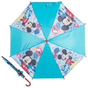 Зонт-трость Детский Disney 004 Mickey Blu фото-1