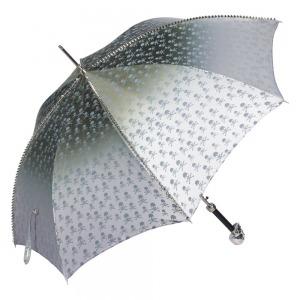 Зонт-трость Pasotti Capo Silver Picco Sculls Grigio фото-4