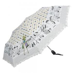 Зонт складной EMME M421A-OC Happiness white фото-2
