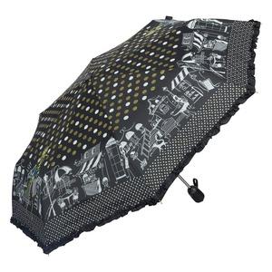 Зонт складной EMME M421A-OC Happiness Black фото-2