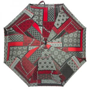 Зонт складной M&P C5865-OC Patchwork Red фото-3
