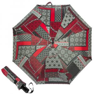 Зонт складной M&P C5865-OC Patchwork Red фото-1