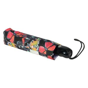 Зонт складной Ferre 6002-OC Butterfly Black фото-4