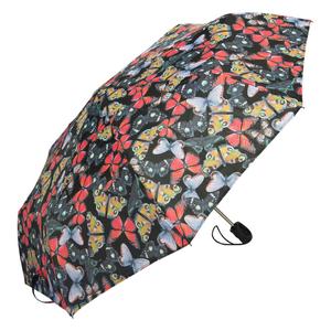 Зонт складной Ferre 6002-OC Butterfly Black фото-2