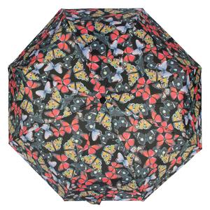 Зонт складной Ferre 6002-OC Butterfly Black фото-3